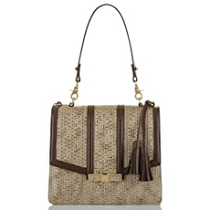 Ophelia Lady Bag<br>Brown Basket Weave