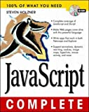 JavaScript Complete with CDROM (0079137369) by Holzner, Steven