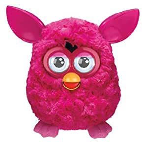 Furreal - A00081010/A31711010 - Peluche et Animal Interactif - Furby Pink Puff (Rose) - Version Française