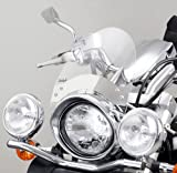 Windscreen Custom Puig Roadster clear for Honda Black Widow 750, CA 125 Rebel, CMX 250 Rebel, Shadow VT 125 C, VT 600 C, VT 1100 C2, VT 750 Spirit, VT 750 S, VT 1300 CX Fury, VF 750 C Magna