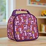 Gabby Kids' Insulated Lunch Bag (Paisley Cat)
