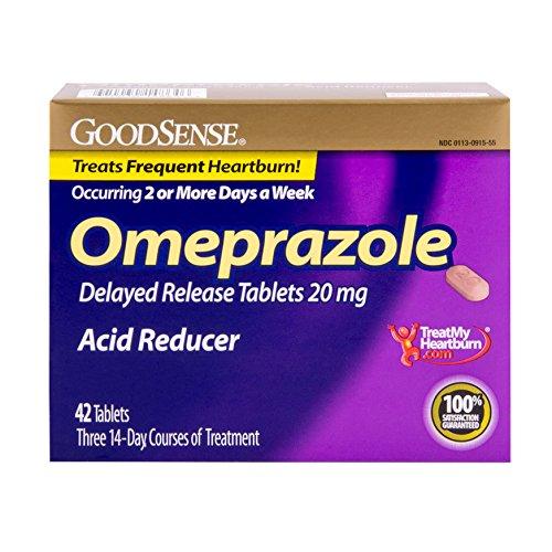 Good Sense Omeprazole Delayed Release, Acid Reducer Tablets 20 Mg, 42 Count