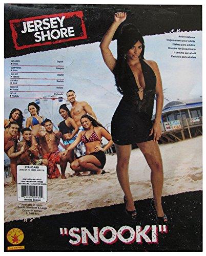 Jersey Shore Black Snooki Dress, Black, Small Costume