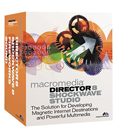Director 8.0 Shockwave Internet Studio with Fireworks 3.0 Upgrade