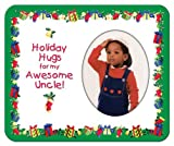 Holiday Hugs for My Awesome Uncle - Photo Magnet Frame