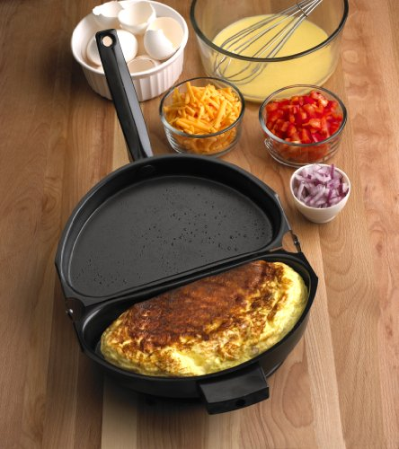 Non-Stick Folding Omelet Pan