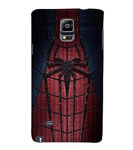 EPICCASE spider man Mobile Back Case Cover For Samsung Galaxy Note Edge (Designer Case)
