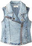 Jessica Simpson Big Girls Roland Moto Vest