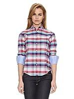 Vilagallo Camisa Cuadros Dimaro (Rosa / Azul)