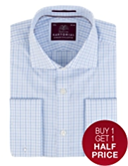 Sartorial Pure Cotton Random Checked Shirt
