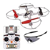 Holy-Stone-X300C-FPV-RC-Quadcopter-Drone-with-Wifi-Camera-24G-4CH-6-Axis-Gyro-RTF-Headless-Mode-Includes-Goggles-and-Bonus-Battery