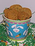 Scott's Cakes Cookie Combos - M & M and Brownie Chunk 1lb. Blue Bunny Pail