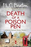 M.C. Beaton Death of a Poison Pen (Hamish Macbeth)
