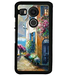 Droit 2D Printed Designer Back Case Cover for LG Google Nexus 5X + 3D F1 Screen Magnifier + 3D Video Screen Amplifier Eyes Protection Enlarged Expander by DROIT Store.