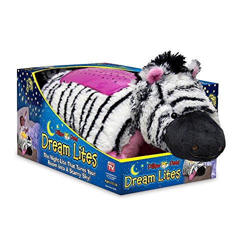 Pillow Pets Dream Lites - Zippity Zebra 11""
