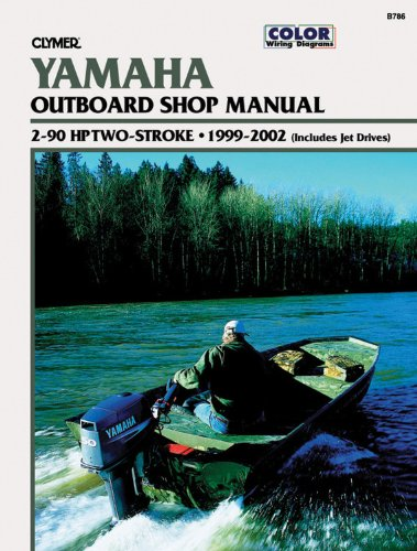 Yamaha Outboards 2-90 Hp Two-Strokes 1999-2002 (Clymer Marine Repair) front-16652