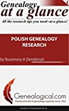 img - for Polish Genealogy Research (Genealogy at a Glance) book / textbook / text book