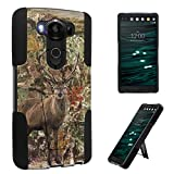 LG V10 Case, DuroCase ® Kickstand Bumper Case for LG V10 (Released in 2015) - (Hunter Deer Camo)