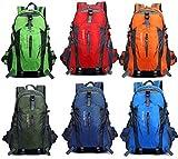 通気性 抜群 ! 長時間 背負っても 快適 登山 ハイキング トレッキング リュックサック 多機能 バックパック 35L デイバッグ 選べる カラー