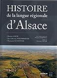 vignette de 'Histoire de la langue régionale d'Alsace (Robert Greib)'