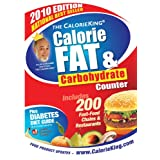 The CalorieKing Calorie, Fat and Carbohydrate Counterby Allan Borushek