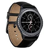 Samsung Gear S2 Classic (Bluetooth + 3G/4G) Smartwatch - Black (Certified Refurbished)