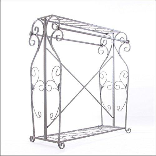 Decorative Grey Steel Iron Garment Coat Rack (Y009D) 2