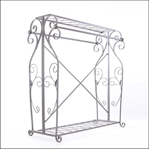Decorative Grey Steel Iron Garment Coat Rack (Y009D) 2