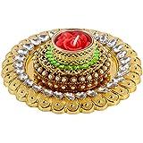 Giftacrossindia Royal Golden Acrylic Designer Diya For Diwali Home Decor Gift Collection