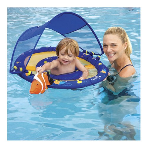Sun Smart Baby Float with Canopy - ShopWiki