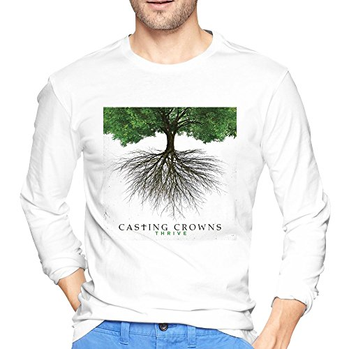 Man Casting Crowns Thrive Album Cover Poster T-Shirts Long-Sleeve (Casting Crowns Tickets compare prices)