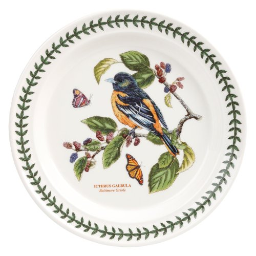 PORTMEIRION BOTANIC GARDEN BIRDS Dinner plate baltimore oriole at Amazon.com