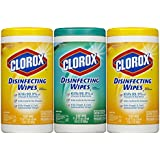 Clorox Disinfecting Wipes Value Pack, Scented, 225 Count (Packaging May Vary)