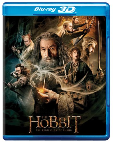 The Hobbit: The Desolation of Smaug (Four Disc Blu-ray 3D + Blu-ray)