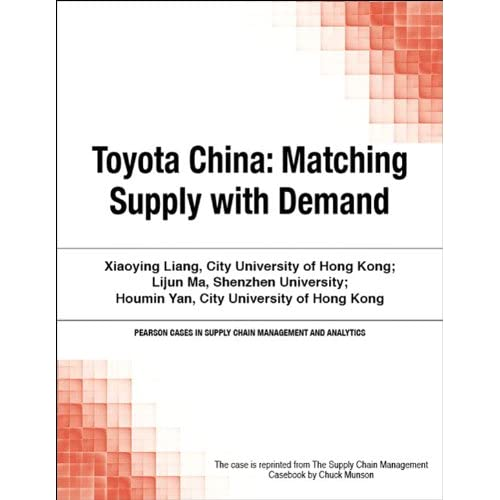 """supply chain and toyota case Product description: the toyota production system is the benchmark used throughout the world for """"lean"""" thinking now you can model your own processes after those."""