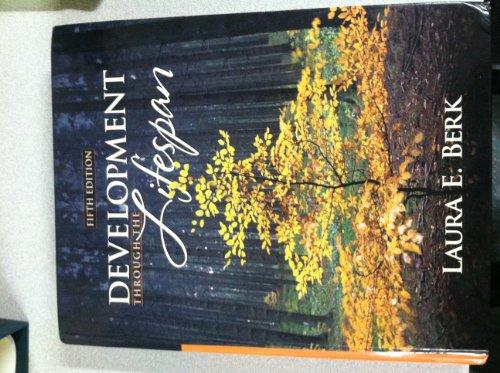 Development Through Lifespan [[5th (fifth) Edition]]