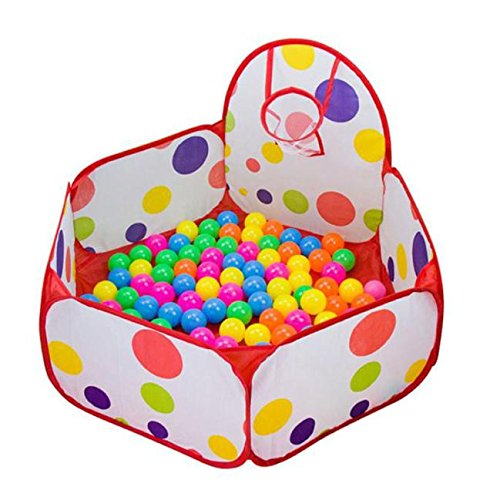 Baomabao-Pop-up-Hexagon-Polka-Dot-Children-Ball-Play-Pool-Tent-Carry-Tote-Toy