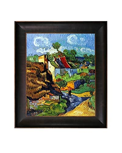 Vincent van Gogh Houses in Auvers 2 Framed Hand-Painted Oil Reproduction