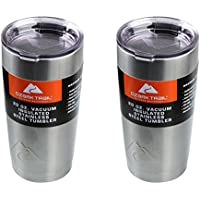 2-Pack Ozark Trail 20-Ounce Double-Wall Vacuum-Sealed Tumbler (Stainless Steel)