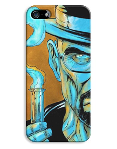 Blue Meth Breaking Bad Walter White iPhone 5 5S Hard Case Cover