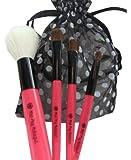 4-piece Brush Set Girls Pretend Makeup Cosmetics