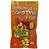 Sensible Foods Crunch Dried Snacks, Orchard Blend, 0.75-Ounce Pouches (Pack of 24) ~ Sensible Foods