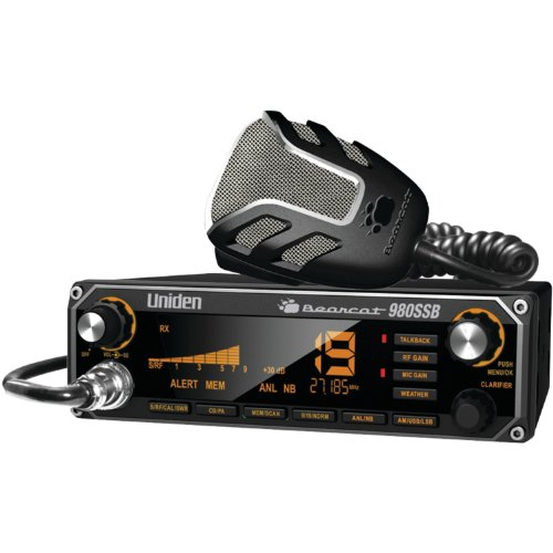 Uniden BEARCAT CB Radio With Sideband And WeatherBand