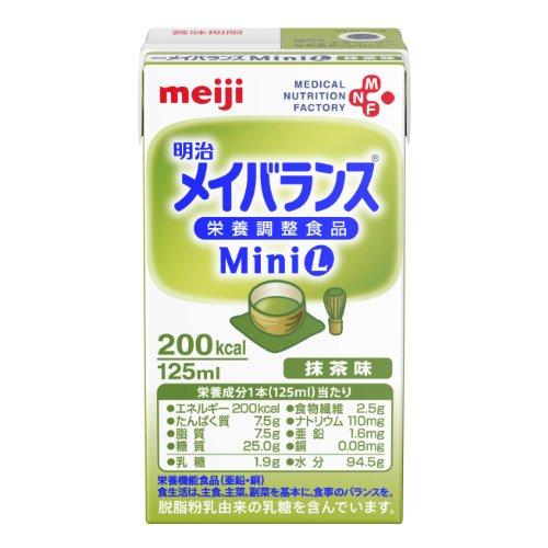 Meiji dairies Mini Matcha taste 125ml×12 pieces
