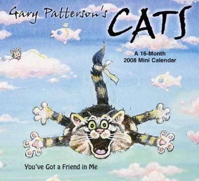 Gary Patterson's Cats 16 Month 2008 Mini Wall Calendar - Buy Gary Patterson's Cats 16 Month 2008 Mini Wall Calendar - Purchase Gary Patterson's Cats 16 Month 2008 Mini Wall Calendar (2008 Calendars, Office Products, Categories, Office & School Supplies, Calendars Planners & Personal Organizers, Wall Calendars)