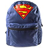 Superman Dc Comics Superman Reversible Design Backpack, Blue (bp09c0spm) BP09C0SPM
