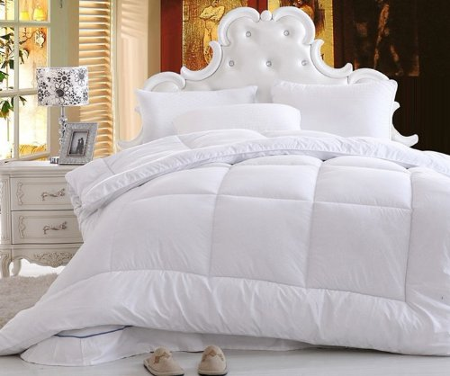 Dada Bedding Qff098765 Quilt Filler Comforter, Full Size, White back-876099