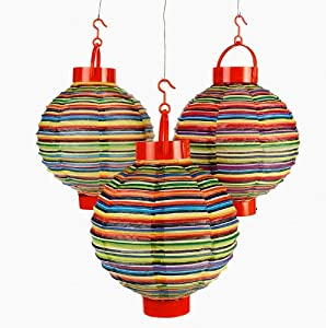 Light-Up Fiesta Lanterns - Party Decorations & Party Lanterns
