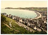 Llandudno, from the Great Orme's Head, Wales - 25 x 19cms Fabric Topped Mouse Mat