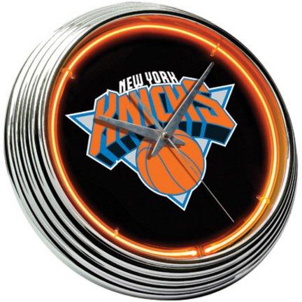 New York Knicks Neon Clock